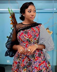 2020 Most Incredible and Stylish Ankara Styles for Beautiful African Ladies To Check Latest Trending Styles In Vogue African Dresses For Kids, African Fashion Ankara, Latest African Fashion Dresses, African Dresses For Women, African Print Dresses, African Print Fashion, Africa Fashion, African Attire, Modern African Dresses