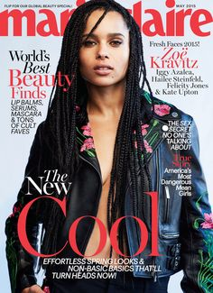 Zoe Kravitz covers Marie Claire May 2015