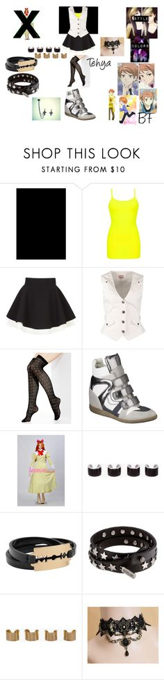 """""""Scholarship to Ouran High school : Tehya's outfit"""" by tvogel-cupcakes-11-17 ❤ liked on Polyvore featuring BKE core, FAUSTO PUGLISI, Anna Field, Vince Camuto, Xhilaration, Maison Margiela, McQ by Alexander McQueen, Replay, women's clothing and women"""