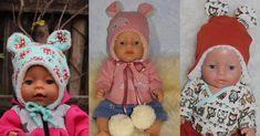 freebook: Teddymütze für Puppen, Weihnachtsgeschenk, Geschenk für Puppenmamas, (*Werbung*)
