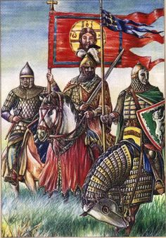 История Русских стягов - Волков бояться, в лес не удаляться, а если удалился - сам рычи!!!