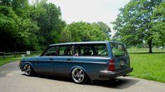 #volvo #240 #wagon #slammed #stance