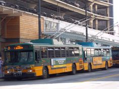 An unlikely destination for transit tourism; Dayton, OH is one of a handful of American cities that still operate electric trolley buses. Heavy Duty Trucks, Heavy Truck, New England Fall, Bus Terminal, Cab Over, Light Rail, Bus Stop, Busses, Cnd