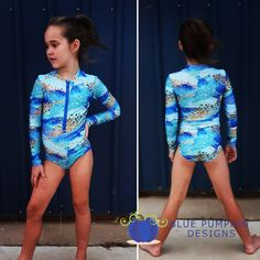 "Blue Pumpkin Designs on Instagram: ""🥰 Blue Brushstrokes SunSmart Suit 🥰 UPF50+ rated"" Blue Pumpkin, Pumpkin Designs, Little Swimmers, Complete Outfits, Brush Strokes, Wetsuit, Bodysuit, Suits, Long Sleeve"