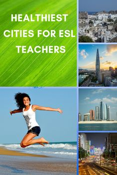If you are a health minded teacher these cities are the best ranked in the world for you to work in. Country Information, Job Information, Missing Work, Teaching English Online, City Select, Vacation Days, You Are The World, Water Quality, Esl