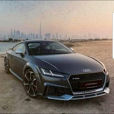 Amazing Audi TT RS (straight six). Top speed: 250km/h 0-100km/h: 37s Engine displacement: 2480cm3 Horse power: 400hp/5850rpm Torque: 480Nm Drive train: 4x4 Minimum price: about 74.000 Production place: Ingolstadt Germany