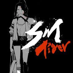 SM 타이거 by 홍원찬/시육  (액션, 학원) 극락왕과의 한 판 대결이 시작된다.