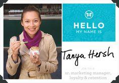 Meet Senior Marketing Manager Tanya Hersh | via The Honest Company blog