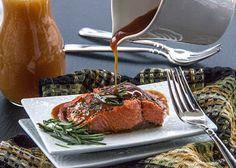 Roasted Salmon with Apple Cider Glaze Recipe on Yummly. @yummly #recipe