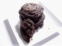 """Cookie Triplo de Chocolate"""