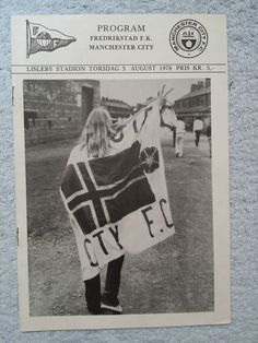 1978 - FREDRIKSTAD v MANCHESTER CITY PROGRAMME - Friendly in Sports Memorabilia, Football Programmes, Friendly/ Pre-Season Fixtures, 1970s   eBay