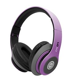 iJoy Matte Rechargeable Wireless Bluetooth Foldable Over Ear Headphones with Mic, EDM  http://topcellulardeals.com/product/ijoy-matte-rechargeable-wireless-bluetooth-foldable-over-ear-headphones-with-mic/?attribute_pa_color=edm  Deep, accurate bass response,Extended frequency range, Rechargeable 5-button control, including Play/pause/answer/hangup,Equalizer,Next track/volume up, Previous track/volume down Ear cups fit around ears to help isolate audio, Foldable design for eas