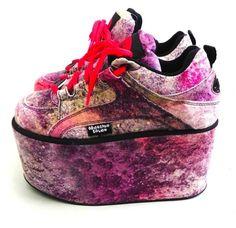 Moonspoon Saloon platform sneakers