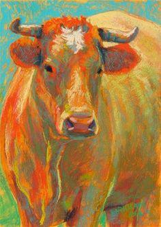 "DPW Fine Art Friendly Auctions - ""Rumba"" (pastel, 7x5 inches) by Rita Kirkman"