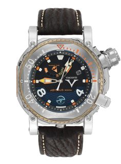 W108 Abyssus Pro-Dive 3000M. Stainless Steel