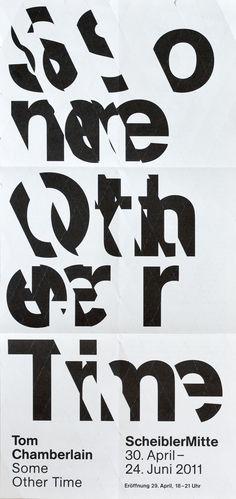 Studio Laucke Siebein, Poster for Scheibler Mitte