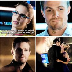 Arrow - Felicity and Oliver #2.4 #3.7 #Olicity <3