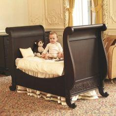 Bratt Decor Chelsea Toddler Bed Kit in Espresso Baby Bassinet, Baby Cribs, Crib Sets For Boys, Interior Design Guide, Custom Baby Bedding, Convertible Crib, Baby Furniture, Kid Beds, Crib Bedding