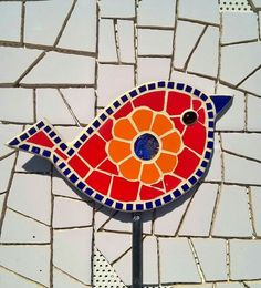 Best 11 Two birds from a set of three – SkillOfKing. Stained Glass Paint, Stained Glass Designs, Stained Glass Projects, Mosaic Designs, Mosaic Patterns, Owl Mosaic, Mosaic Garden Art, Mosaic Flower Pots, Mosaic Birds