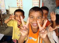 PEACE! - Volunteer with GoEco in the Teaching and Child Care program in Delhi, India. For more information visit the program page http://www.goeco.org/project/329/Volunteer_in_India_Teaching_and_Child_Care_in_Delhi#