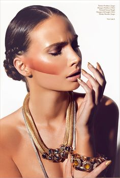 Gold Digger - A Gold Beauty Editorial From Volt Cafe 7