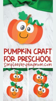 Kindergarten Crafts, Daycare Crafts, Toddler Crafts, Preschool Crafts, Fall Arts And Crafts, Halloween Crafts For Kids, Halloween Activities, Autumn Crafts Kids, St Patricks Day Crafts For Kids