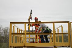 Our Working at Heights training program was created and developed by NATT Safety Services in Greater Sudbury and is CPO approved. Greater Sudbury, Safety Training, Training Programs, Cabin, House Styles, Workout Programs, Cabins, Cottage, Wooden Houses