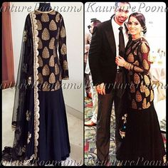 Here's a full length picture of this beautiful piece, which was customized for my stunning client Aman❤️ Aman wanted this as a lehnga, but it can be customized as a pajami or salwaar suit in any colour and size. For any inquiries please see my bio for contact information. #poonamskaurture #ihavethebestclients