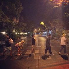 Abbey road in coup day