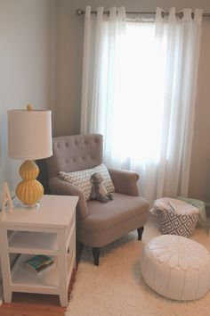 Grey baby room  | Decoración