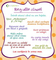Sfaturi pentru educatia parintilor, noutati din educatie, activitati pentru copii, lista de gradinite si scoli, discutii intre parinti si cadrele didactice. First Day Of School, Pre School, Sunflower Wall Decor, Little Einsteins, Classroom Routines, Student Information, Classroom Organisation, School Games, Craft Activities For Kids
