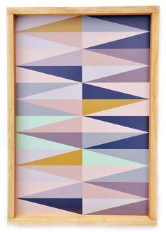Spear Print Tray // Leif Shop #geometric #design