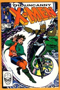 x-men 180 Marvel Comic books modern age coverX-men Mutants