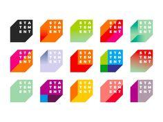 statement-electronic-music-events-organizer-dynamic-logo-design-by-alex-tass.png by Alex Tass, logo designer Identity Design, Logo And Identity, Graphisches Design, Studio Design, Brand Identity, Design Ideas, Event Logo, Event Branding, Logo Branding