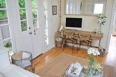 Whitney's Live/Work Canal Cottage — House Call | Apartment Therapy