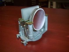 Qty. 2   Mounted  Laser Mirrors  60mm Dia  &  55X55mm #MountedLaserMirrors
