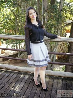 LOOK DO DIA: CONJUNTO LADY LIKE - BY DEBORA SANCHES | Blog da Paola