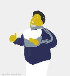 Dibujé a Diego Maradona bailando cumbia. Bart Simpson, Gifs, Illustrations, Fictional Characters, Dancing, Display, Backgrounds, Dibujo, Illustration