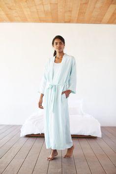 Pure Jill Sleep linen robe