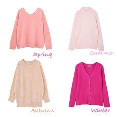 いいね!73件、コメント3件 ― Ricca Robin(リカロビン)さん(@riccarobin2007)のInstagramアカウント: 「パーソナルカラー診断はまずは似合うピンクからチェックしていきます。誰にでも一番お似合いにあるピンクがあります❣️ピンクを普段あまり着ない方はぜひリップやチークの参考にしてください☺️…」 Colorful Fashion, Love Fashion, Fashion Outfits, Pink Outfits, Cool Outfits, Cool Summer Palette, Deep Winter Colors, Seasonal Color Analysis, Color Me Beautiful