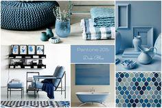 Trend primavera 2015, arredamento, colori per la casa, relooking in blu, palette dei colori del mare