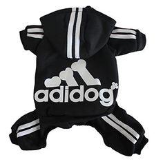Scheppend Adidog Pet Clothes for Dog Cat Puppy Hoodies Coat Winter Sweatshirt Warm Sweater,Black Small - http://www.thepuppy.org/scheppend-adidog-pet-clothes-for-dog-cat-puppy-hoodies-coat-winter-sweatshirt-warm-sweaterblack-small/