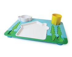 Children's landscape dinner set by DOIY Designs