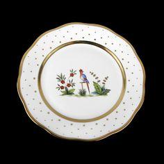 Assiette de table 26cm de diamètre/ oiseau 3