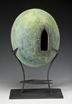 Virginia McKinney, Iron, Ceramic Clay Vessels