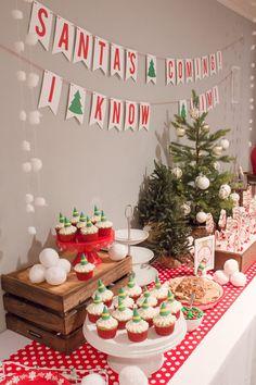 Girls Movie Night Elf Party Sweetwood Creative Co.   Atlanta Wedding Planner + Upscale Event Design