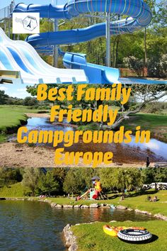 A collection of 20 of the Best Family Friendly Campgrounds in Europe. So you know where to stay on a road trip through Europe with your family. Europe Travel Guide, Travel Info, France Travel, Travel Guides, Travel Destinations, Outfits Winter, Outfits Spring, Family Adventure, Adventure Travel