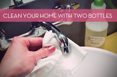 Kick the (Cleaner) Bucket: Clean Your Entire Home with Just Two Homemade Cleansers � Curbly | DIY Design Community