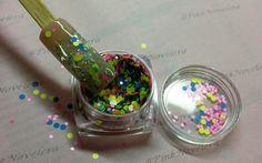 Glitter Circle Dots
