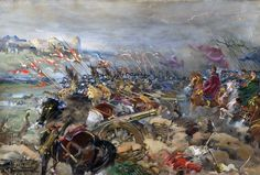 Charge of the Polish Winged Hussars at the Battle of Khotyn,  Polish-Ottoman War
